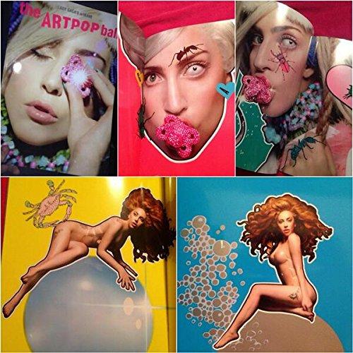 Lady Gaga's ArtRave The Artpop Ball Tour Book 2014