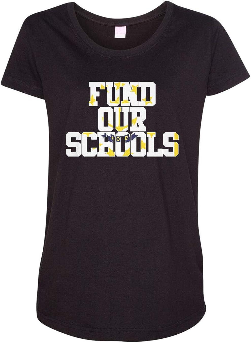 HARD EDGE DESIGN Women's Fund Our Rhode Island Schools T-Shirt