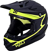 Kali Protectives Zoka Full-Face Helmet Reckoning Matte Black/Fluo Yellow, M