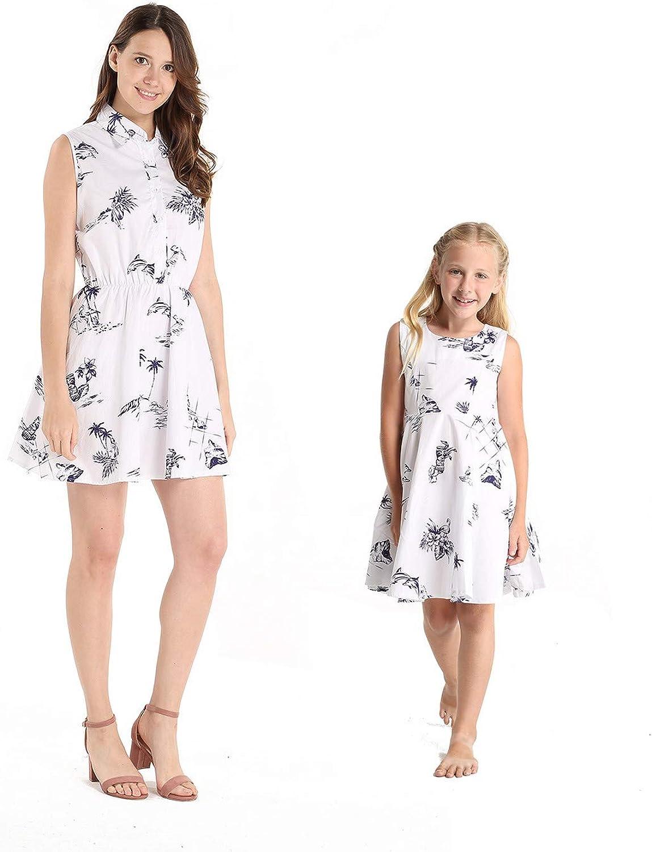 Matching Hawaiian Luau Mother Max 53% OFF Daughter D Shirt and Vintage 5 popular Dress