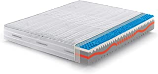 comprar comparacion Marcapiuma - Colchón viscoelástico Matrimonio Memory 150x190 Alto 25 cm - Sunshine - firmeza H2 Medio 9 Zonas - Producto S...