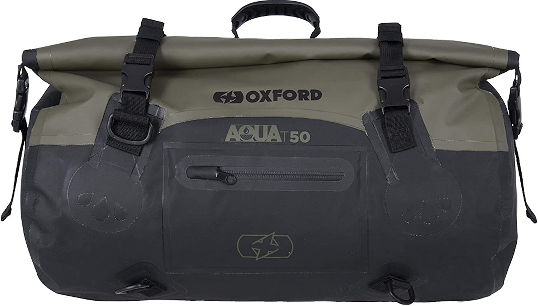 Oxford AQUA T-50 Rolltasche Schwarz//Gelb 50 Ltr.