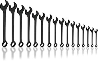 Neiko 03574A Jumbo Combination Wrench Set, 16 Piece | Raised Panel Construction | 1/4 to 1-1/4-Inch SAE Sizes