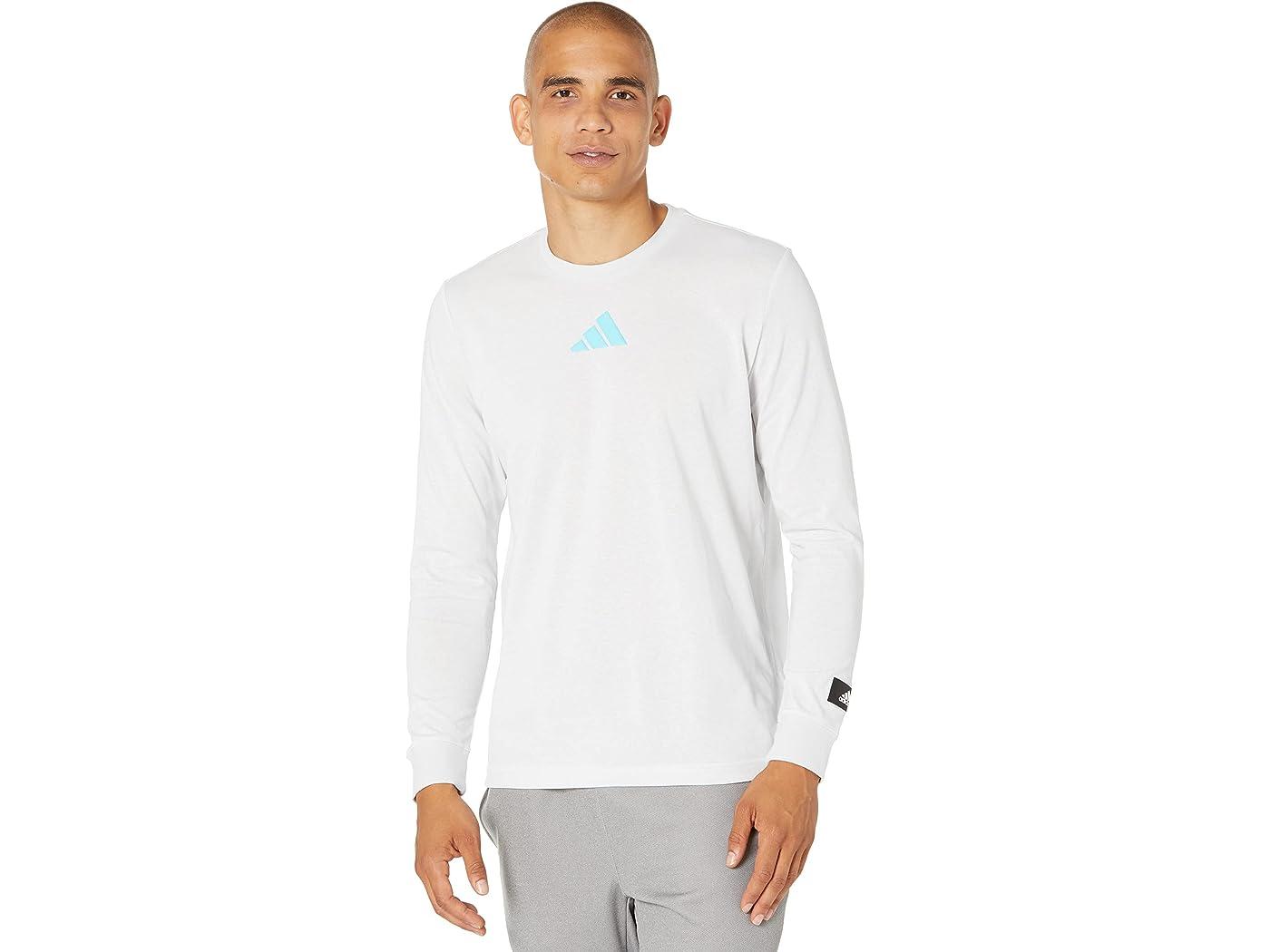 Adidas Future Icons Block Long Sleeve Tee