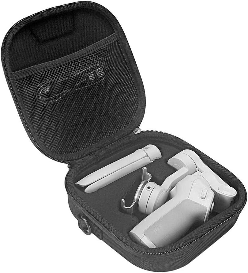 tr/épied de stabilisateur de cardan portable 3 axes l/éger et portable Esimen /Étui de voyage pour DJI OM4 // OSMO Mobile 3 smartphone et autres accessoires Noir