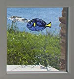 Tropical Fish - Blue Tang - Palette Surgeonfish -...