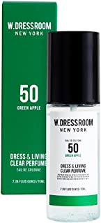 W.DRESSROOM Dress & Living Clear Perfume fragrance 70ml (#No.50 Green Apple)/ダブルドレスルーム ドレス&リビング クリア パフューム 70ml (#No.50 Green Apple)