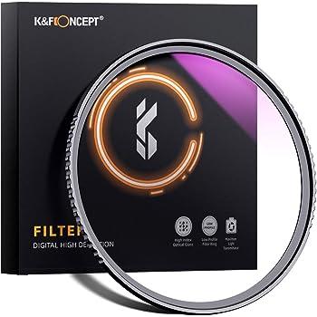 K&F Concept 46mm MC UV Protection Filter Slim Frame with Multi-Resistant Coating for Camera Lens