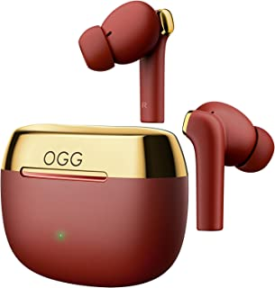 OGG K6 Wireless Earbuds ANC Bluetooth Earphones, Active Noise Cancelling Headset, Wireless Bluetooth Earbuds with Mart Tou... photo