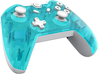 JFUNE Mando Inalámbrico para Nintendo Switch, Pro Controlador Wireless Switch Gamepad, 6-Axis Gyro Dual Motor Switch Contr...