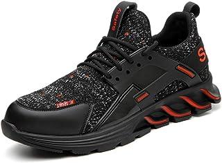 AFFINEST Chaussures de sécurité Homme Femme S1 Embout Acier Protection Chaussures de Travail de Respirant légèr Plein air ...