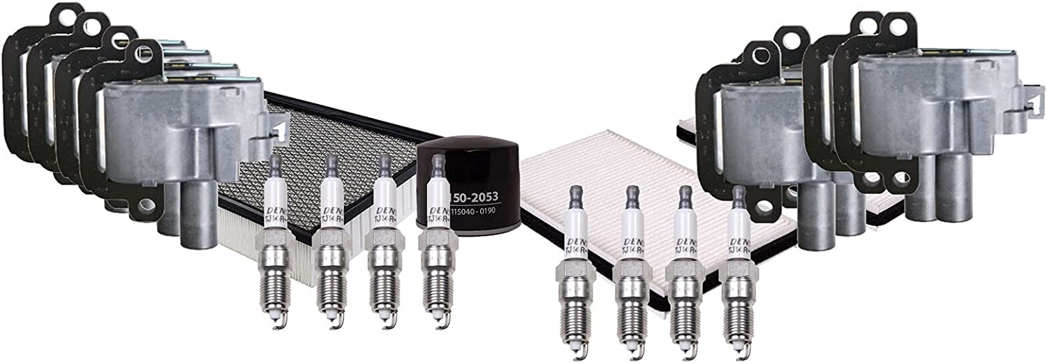 Inexpensive Ignition Tune Up 8 Double Platinum Spark wi Plugs Store Compatible kit