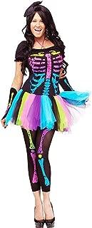 funky punk skeleton costume