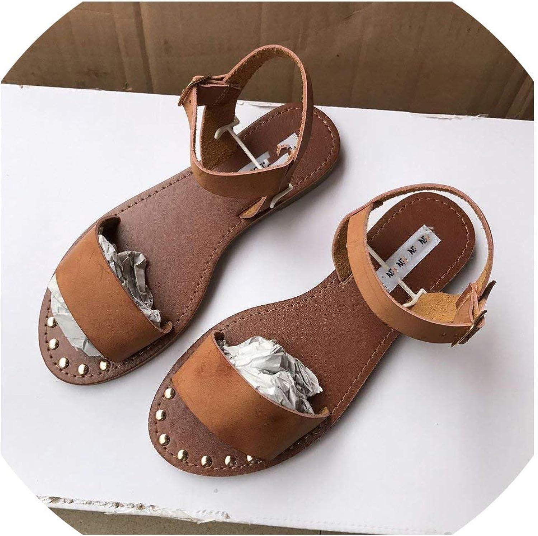 Summer Slip-On Peep Toe Casual Sandals Gladiator Sandals Footwear Woman shoes Sandalias
