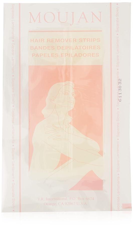 MOUJAN 2000 Pre-Waxed Strips For Body (8 Pre-waxed 2 Sided Strips - 16 Applications)
