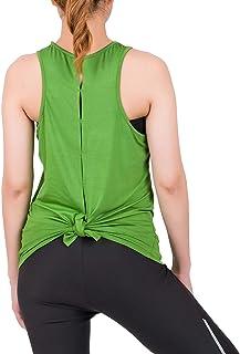 LOFBAZ Workout Tops for Women Yoga Gym Tank Top Shirts Athletic Fashion Clothes