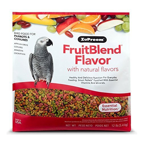 ZuPreem FruitBlend Parrot Conure Medium Large...