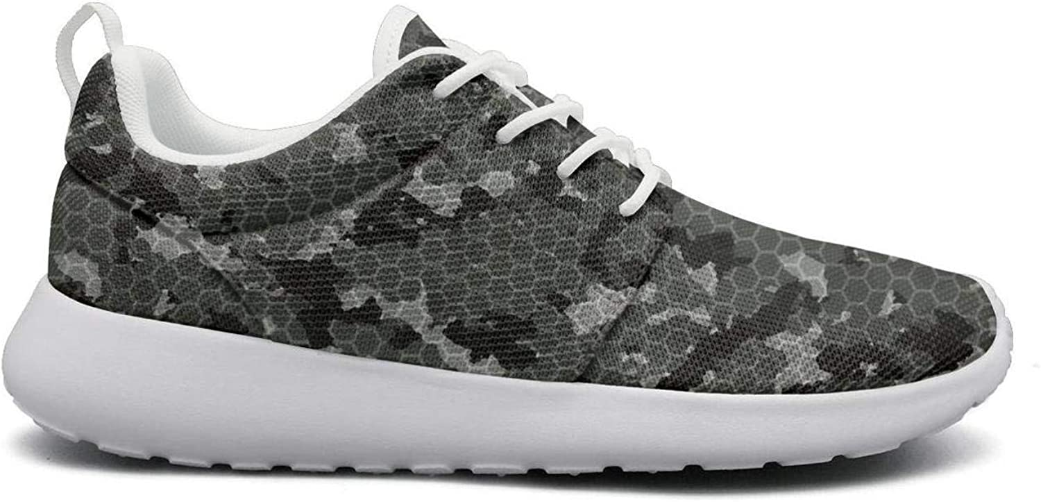 Wuixkas Camouflage Army Womens Lightweight Mesh Sneakers Funny Athletic shoes