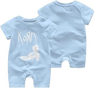 LouisBerry Korn Sommer Kurzarm Mädchen Jungen Strampler Body Suit Baby Pyjama Jumpsuit