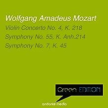 Green Edition - Mozart: Violin Concerto No. 4 & Symphonies Nos. 55, 7