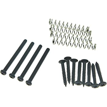 Black Humbucker Pickup Surround Mounting Screws Set of 8