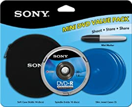Sony 8cm DVD-R Value Pack 10 pk Spindle