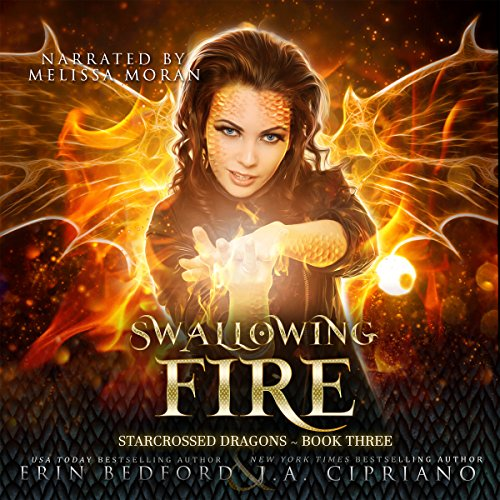 Swallowing Fire audiobook cover art