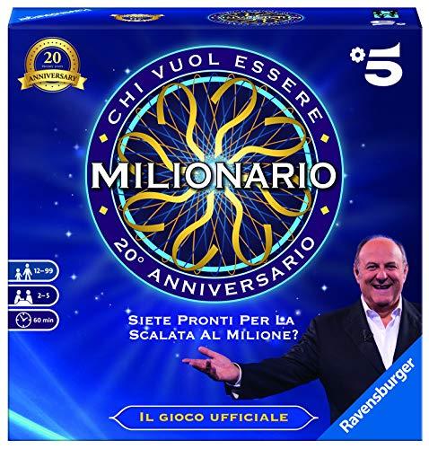 Ravensburger 26273 Chi Vuol Essere Milionario, Gioco da Tavolo, per 2-5 Giocatori, Età Consigliata 12 +