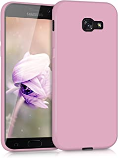 kwmobile Crystal Case for Samsung Galaxy A5 (2017) - Soft Flexible TPU Silicone Protective Cover - Transparent Pink 40717.52