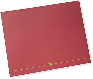 Red Award Certificate Holder - 6 CT
