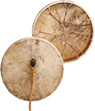 "Shaman drum Cow plain 20"", Frame Drum, handmade"
