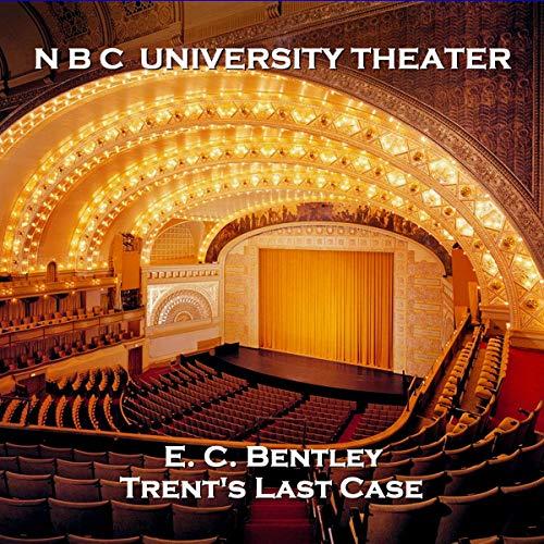 NBC University Theater: Trent's Last Case cover art