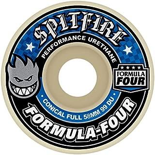 Spitfire Formula Four Conical Full 99du Skateboard Wheel 52mm White