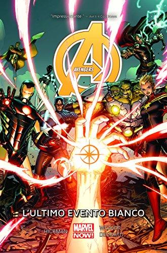 Avengers Volume 2 L'ultimo Evento Bianco Ristampa