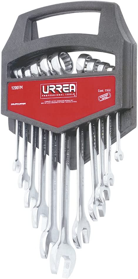 URREA 1200IM 6-19mm 12-Point Combination Chrome Ranking TOP11 Albuquerque Mall Wrench