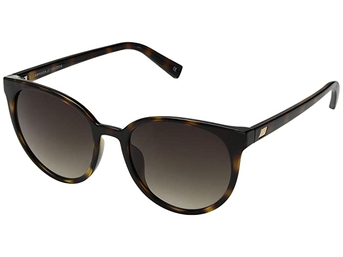 Le Specs Armada (Tortoise/Khaki Gradient) Fashion Sunglasses