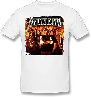 Hellyeah Hellyeah DIY Men's Comfort Cool Crewneck Cotton Short Sleeve T-Shirt
