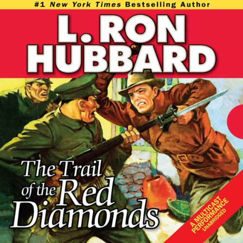 The Trail of the Red Diamonds audiobook cover art