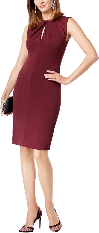 I-N-C Womens Keyhole Sheath Dress