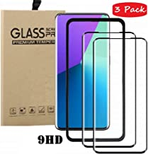 FanTing for Asus Zenfone Max Shot ZB634KL Screen Protector,[9H Hardness,Full Coverage,No bubbles,fingerprint],Scratch-resistant high-quality suitable for Asus Zenfone Max Shot ZB634KL-Black(3 Pack)