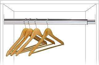 Tatkraft Butler, Tringle Extensible de Garde-Robe, Règlable de 60 à 90 cm, Multiplie par 2 l'Espace de Rangement, Gain de ...