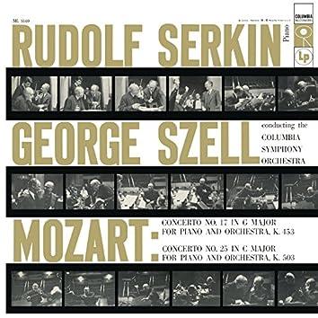 Mozart: Piano Concerto No. 17 in G Major, K. 453 & Piano Concerto No. 25 in C Major, K. 503