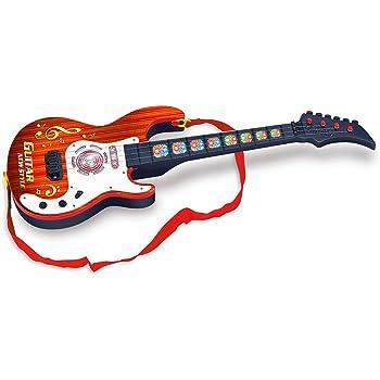 YVSoo Guitarra eléctrica Mini Guitarra para Niños, 4 Cuerdas ...