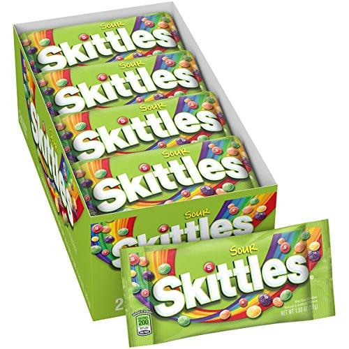 Skittles Mundgerechte Saure Bonbons, 51 Gramm (Packung mit 24)