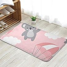 Koala Happy Cute Animals Wildlife Doormat Entrance Mat Floor Mat Rug Indoor/Front Door/Bathroom/Kitchen and Living Room/Be...