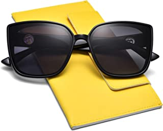 Cateye Square Polarized Sunglasses for Women 2020 Trendy Style