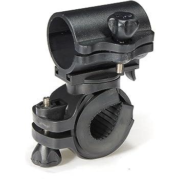 Support Universel Réglable Guidon Vélo pour Lampe Torche Rotatif 360º