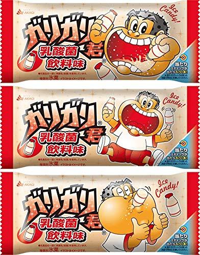 赤城乳業 ガリガリ君 乳酸菌飲料味105ml×32袋