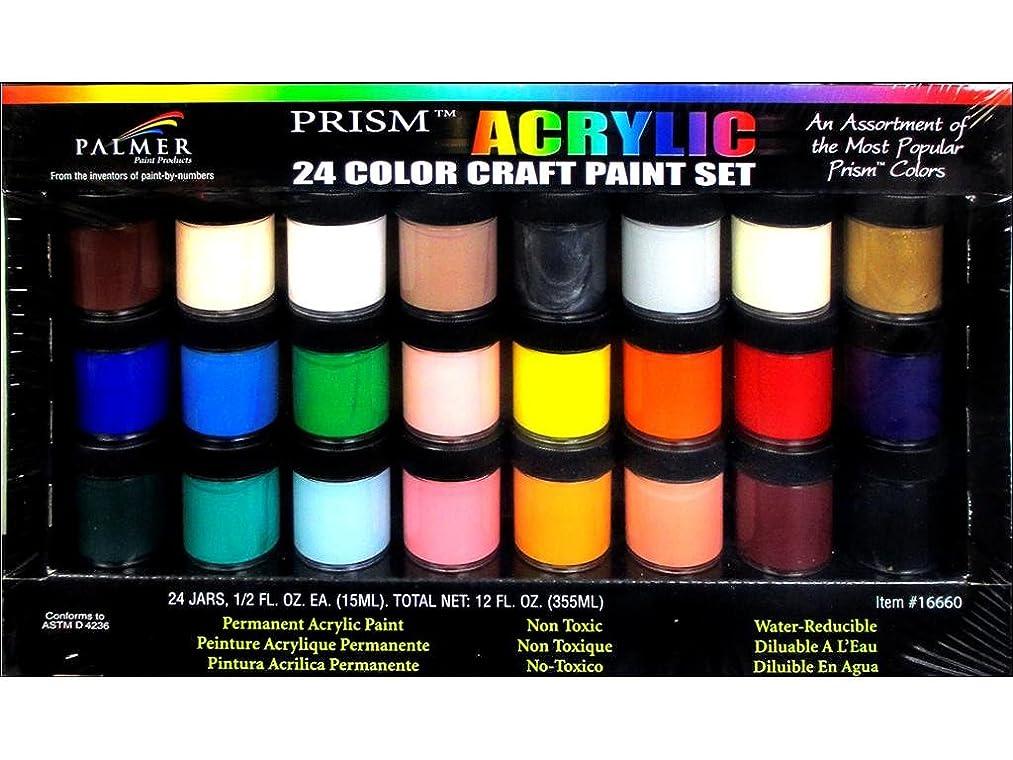Palmer Paints Palmer Prism 1/2oz 24 Acrylic Paint Jar Set 24ct