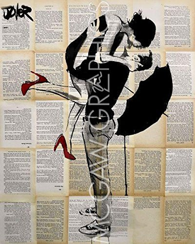 Always Again by Loui Jover, Art Print Poster 11 x 14 by Bruce McGaw Graphics